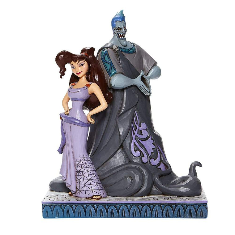 Moxie and Menace-Meg and Hades Figurine-Disney Traditions by Jim Shore