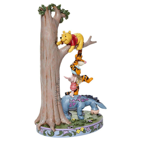 Hundred Acre Caper - Tree with Pooh and Friends Figurine - Disney Traditionsim Shore