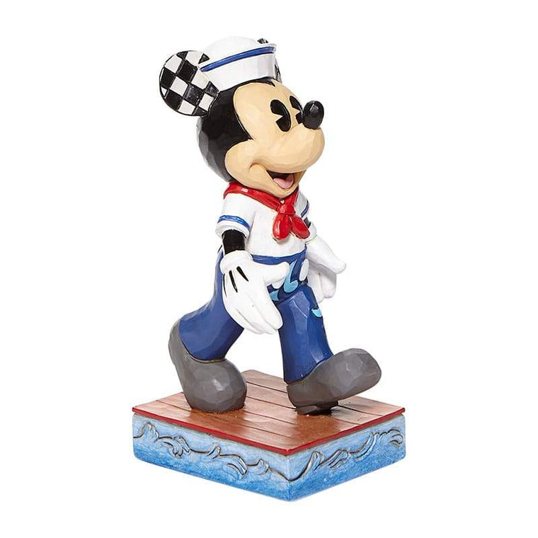 Snazzy Sailor - Mickey Sailor Personality Pose Figurine - Disney TraditionsShore