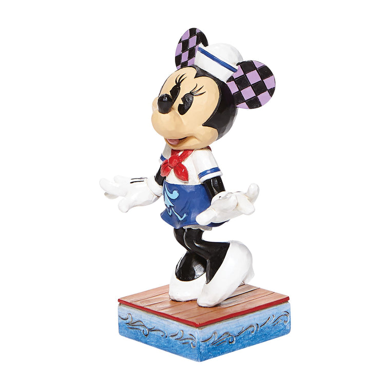 Sassy Sailor - Minnie Mouse Personality Pose Figurine - Disney Traditionshore