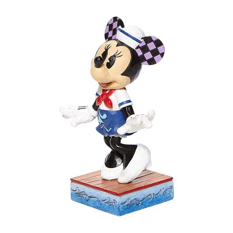 Sassy Sailor - Minnie Mouse Personality Pose Figurine - Disney Tradition by Jim Shore