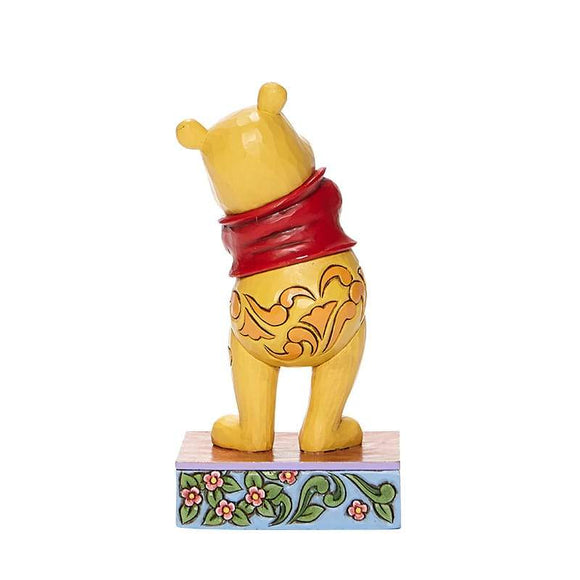 Beloved Bear - Winnie the Pooh Personality Pose Figurine - Disney Traditions Shore