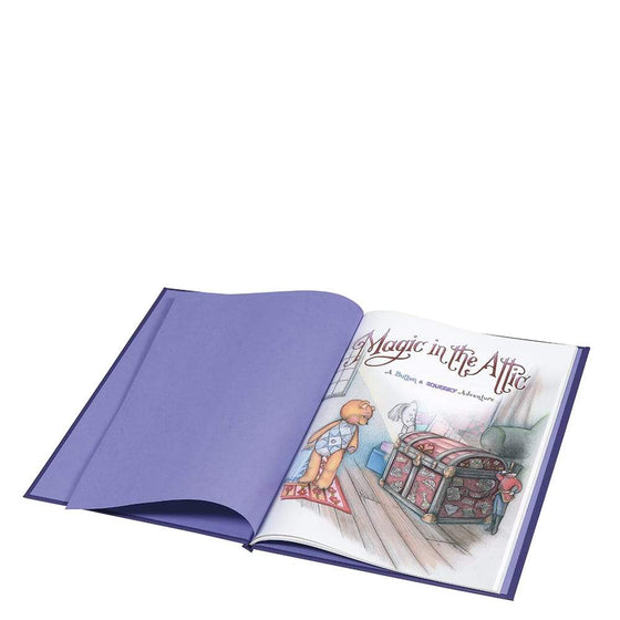 """Magic In The Attic"" Button & Squeaky Story Book"