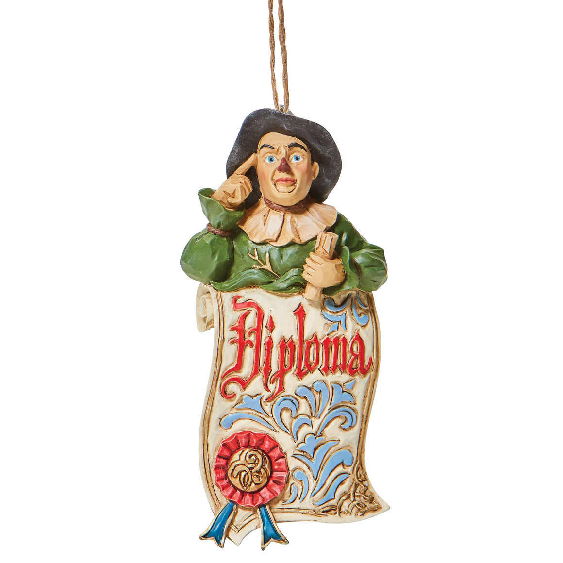 Scarecrow Diploma (Hanging Ornament)