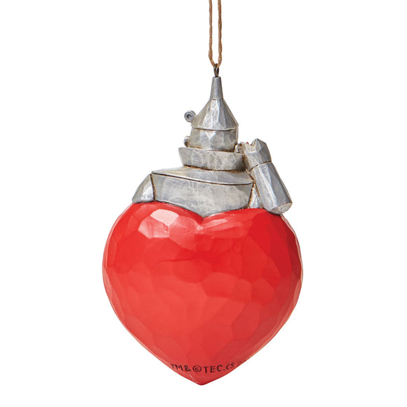 Tin Man Heart (Hanging Ornament)