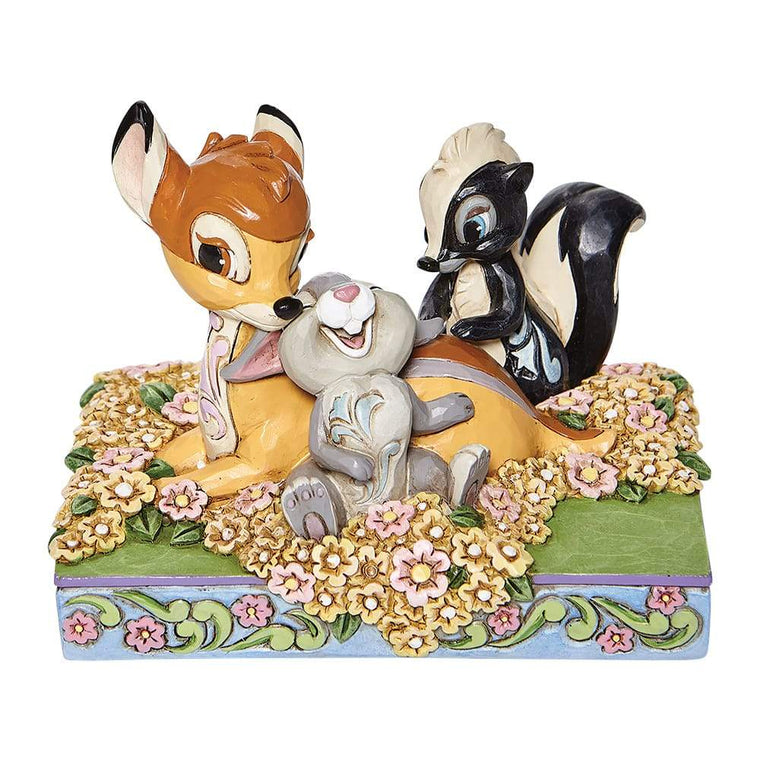Childhood Friends - Bambi and Friends Figurine - Disney Traditions by Jim Shore