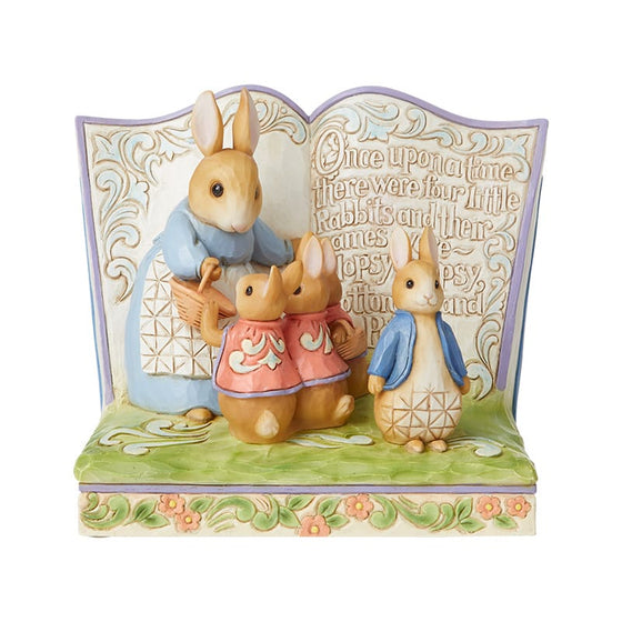 """Once Upon a Time There Were Four Little Rabbits"" Peter Rabbit Storybook HAND-SIGNED"