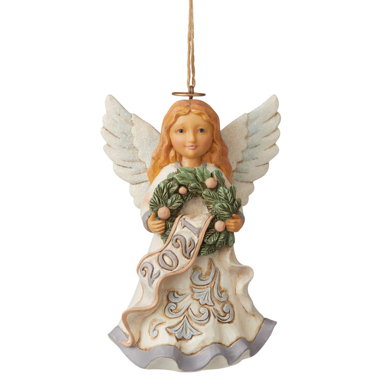 Angel 2021 Hanging Ornament - Heartwood Creek by Jim Shore