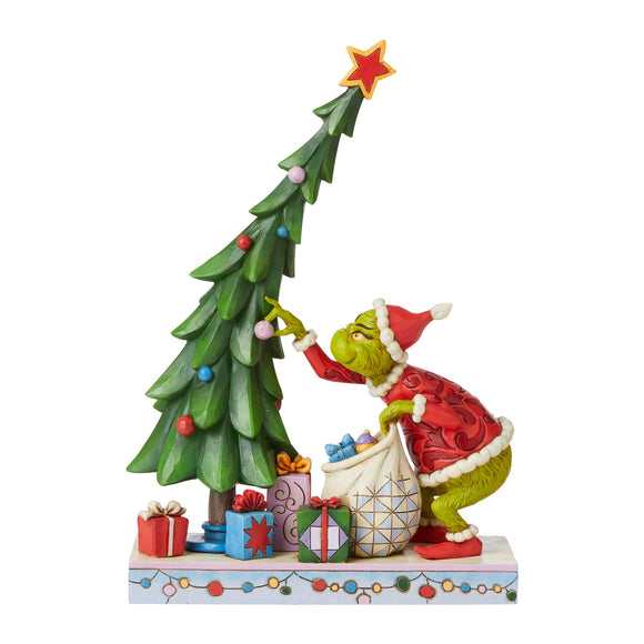 Grinch Undecorating Tree Figurine - The Grinch by Jim Shore