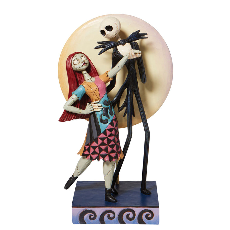 A Moonlit Dance - Jack and Sally Romance Figurine - Disney Traditions byJim Shore