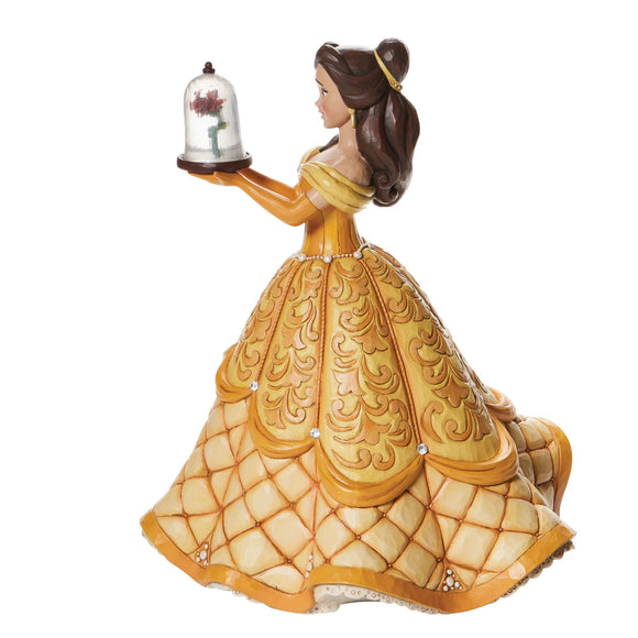A Rare Rose - Belle Deluxe Figurine - Disney Traditions by Jim Shore