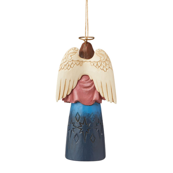 Nativity Angel Hanging Ornament - Heartwood Creek by Jim Shore