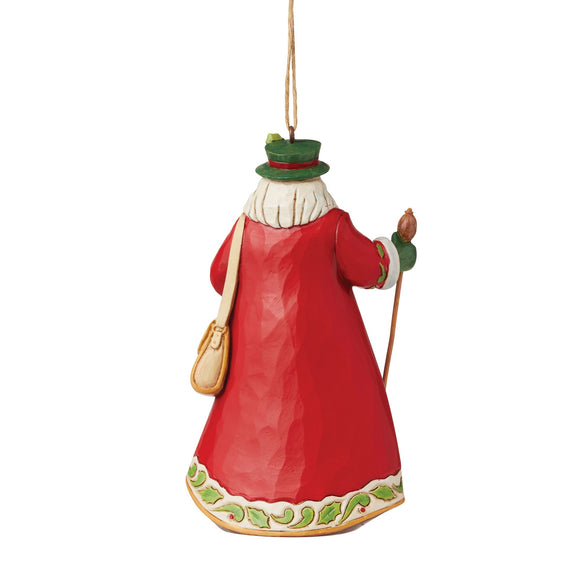 German Santa Hanging Ornament - Heartwood Creek by Jim Shore