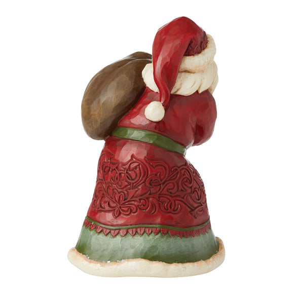 Victorian Christmas Small Santa with Toy Bag - Heartwood Creek by Jim Shore