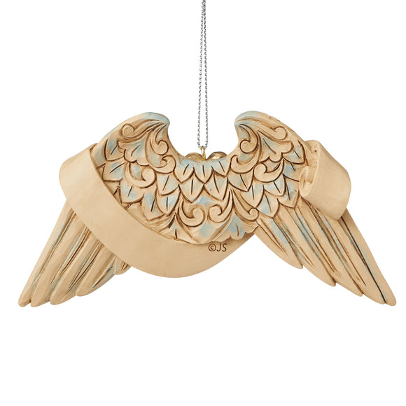 Pet Bereavement Angel Wings Hanging Ornament - Heartwood Creek by Jim Shore