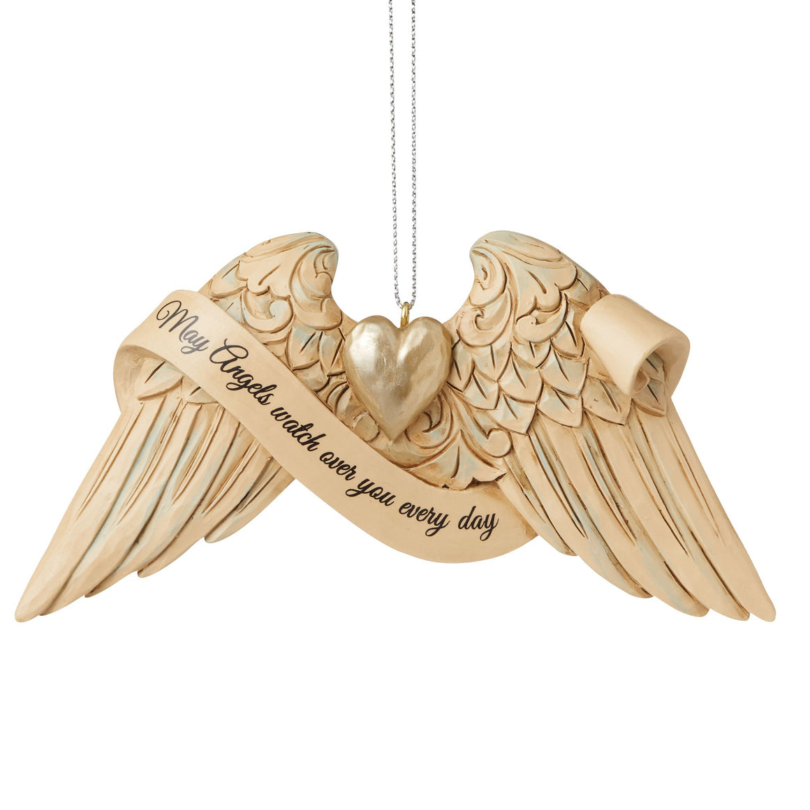 Guardian Angel Wings Hanging Ornament - Heartwood Creek by Jim Shore