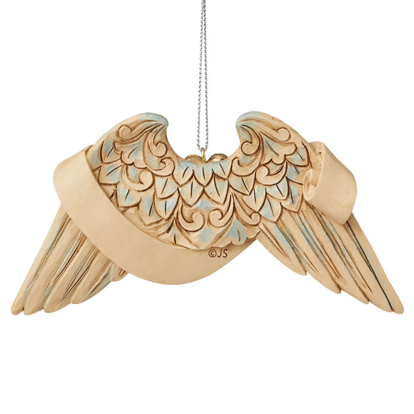 General Prayer Angel Wings Hanging Ornament - Heartwood Creek by Jim Shore