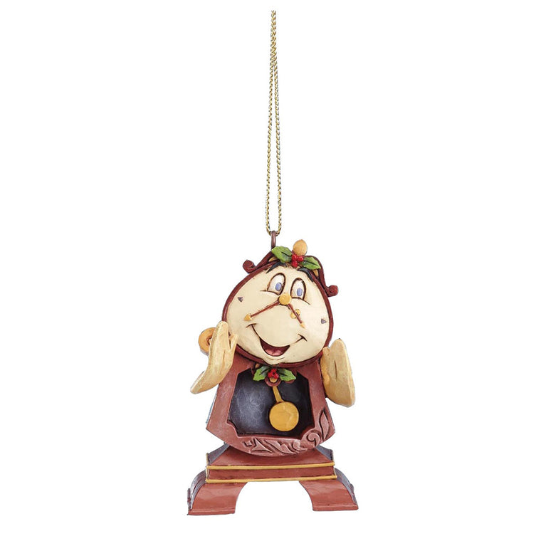 Disney Traditions by Jim Shore Cogsworth Hanging Ornament