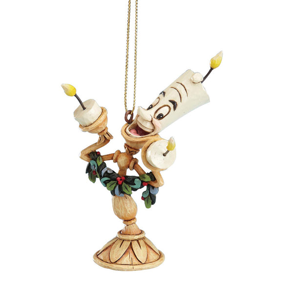 Disney Traditions by Jim Shore Lumiere - Hanging Ornament