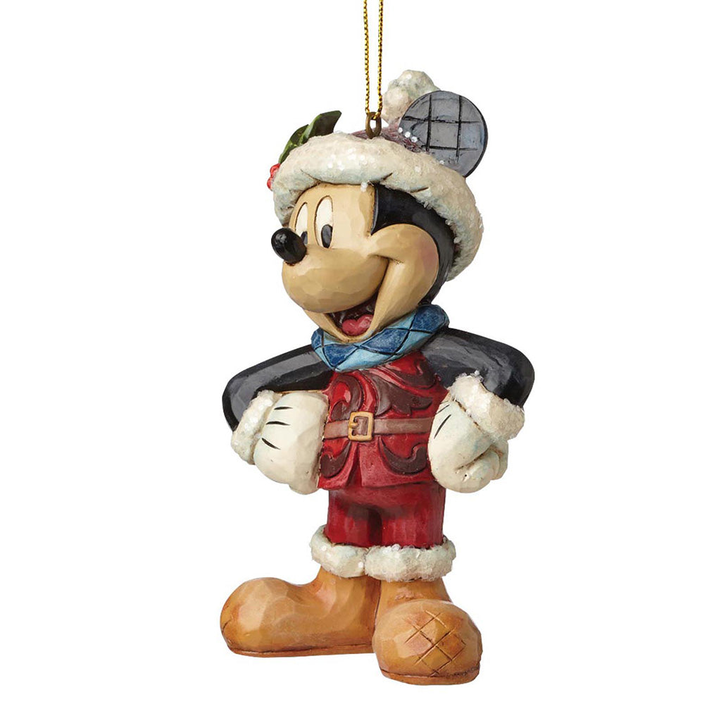 Sugar Coated Mickey Mouse Hanging Ornament - Disney Traditions by Jim Shore