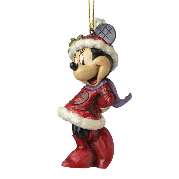 Sugar Coated Minnie Mouse Hanging Ornament - Disney Traditions by Jim Shore