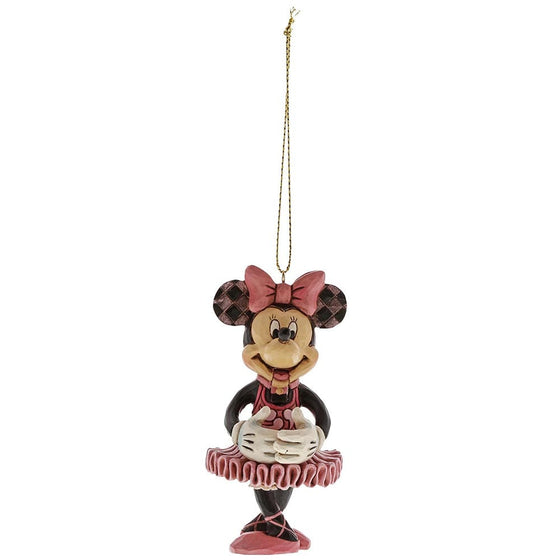 Disney Traditions Minnie Mouse Nutcracker Hanging Ornament