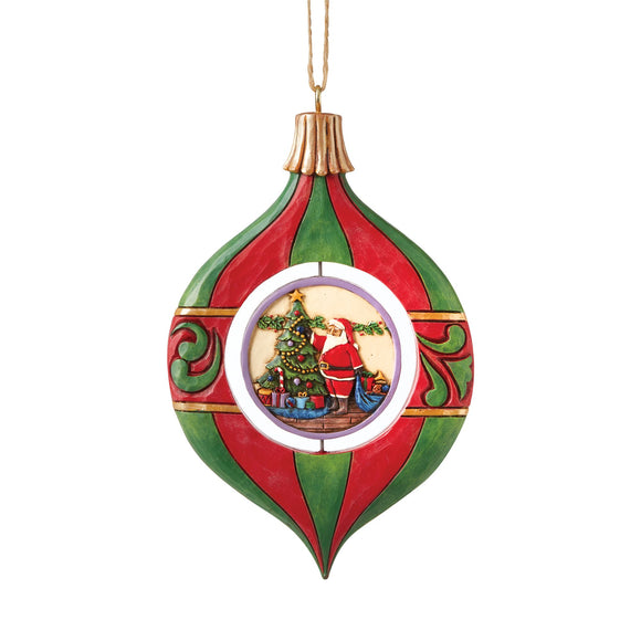 Ornament Shaped Promo Hanging Ornament - Heartwood Creek by Jim Shore