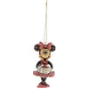 Minnie Mouse Nutcracker Hanging Ornament - Disney Traditions by Jim Shore