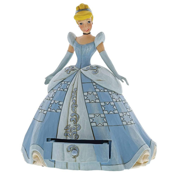 Disney Traditions by Jim Shore Cinderella Treasure Keeper Figurine