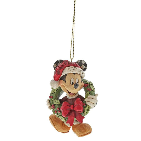 Disney Traditions by Jim Shore Mickey Mouse Hanging Ornament