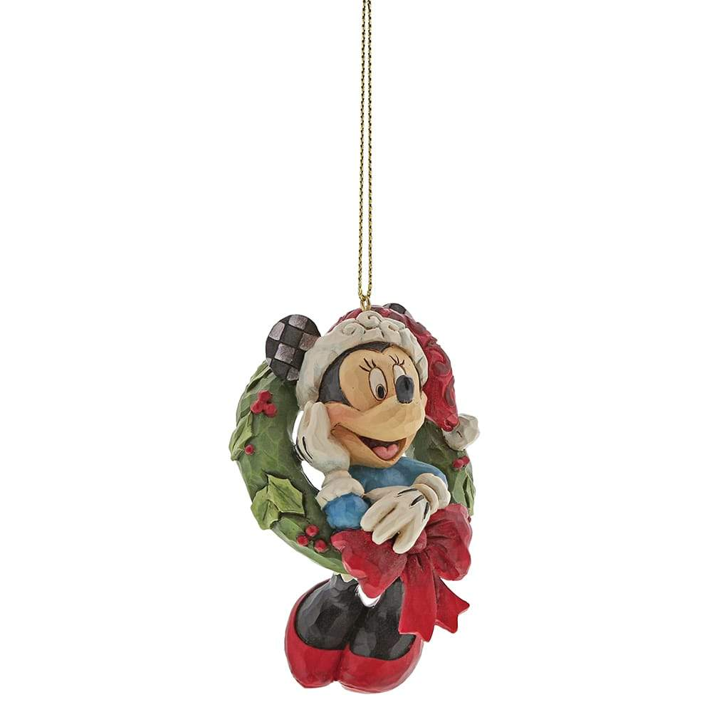 Minnie Mouse Hanging Ornament - Disney Traditions by Jim Shore