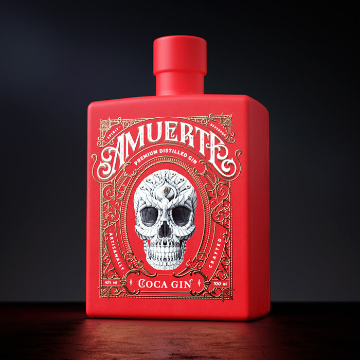Amuerte Red Bottle