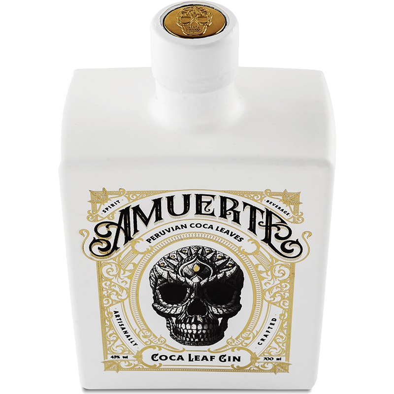 Amuerte Coca Leaf Gin White Edition Top (2055267188825)