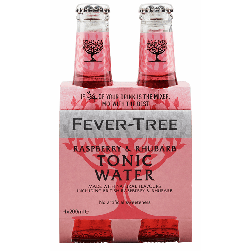 FEVER TREE Bevande Analcoliche Fever-Tree Raspberry & Rhubarb Tonic Water