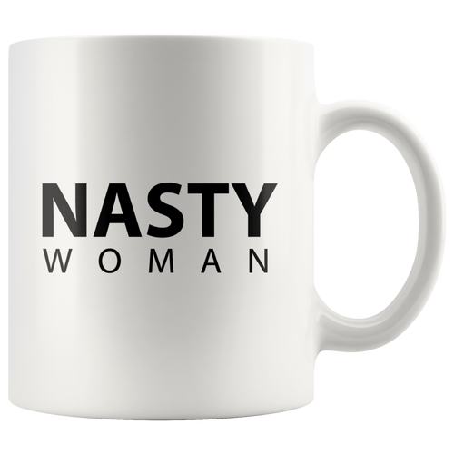 Nasty Woman Mugs - Modern Minimalist Design