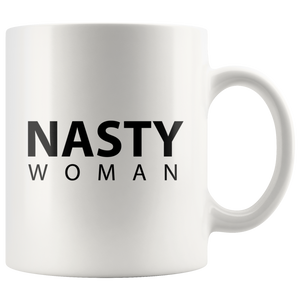 Nasty Woman Modern Minimalist Design Coffee Mug
