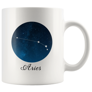 Aries Zodiac Mug - Constellation