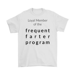 Frequent Farter Program Shirt (light colors)