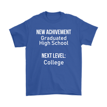 New Achievement High School Mens T-shirt