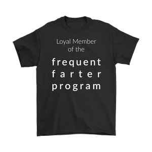 Frequent Farter Program Shirt (dark colors)