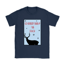 Christmassy AF Funny Swearing T-Shirt For Women