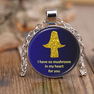So Mushroom In My Heart Pendant Necklace
