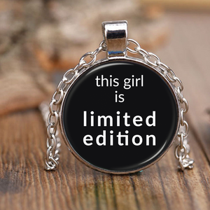 Limited Edition Girl Pendant Necklace