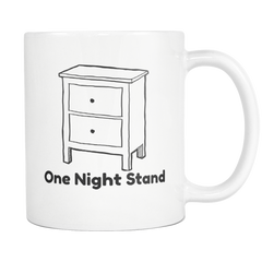 One Night Stand Funny Pun Coffee Mug