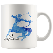 Sagittarius Mug: Watercolor Design Mug