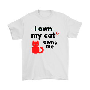 My Cat Owns Me Unisex T-shirt