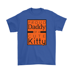 Proud Daddy of a Cute Kitty Cat Lover Unisex T-shirt