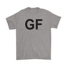 GF Girlfriend Dark Text Couple T-shirt
