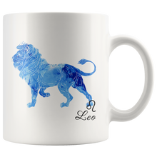 Leo Mug - Watercolor Design