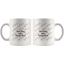 Cats and Flowers Gratitude Quote Mug